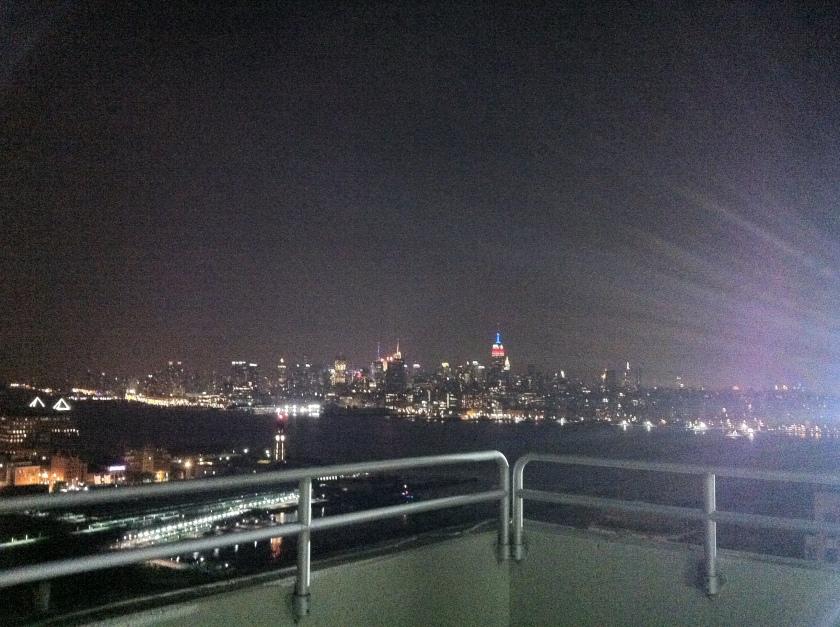 New York from Newport, NJ