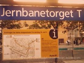 Jarnbanetorget - The City Centre