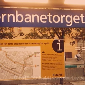 Jarnbanetorget - The City Centre