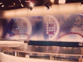 NRK Broadcasting Studios - National News Room